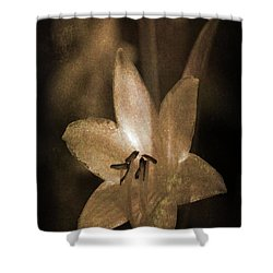 Rustic Bloom Shower Curtain