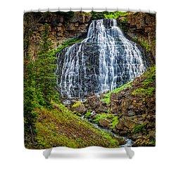 Rustic Falls  Shower Curtain