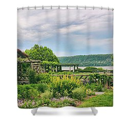 Rustic Garden Shower Curtain by Jessica Jenney