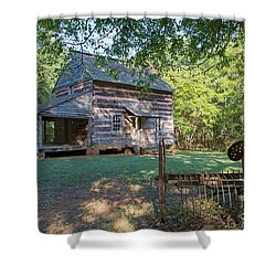Rustic Homestead Shower Curtain