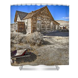 Rustic House Shower Curtain