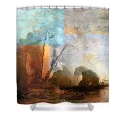 Rustic I Turner Shower Curtain