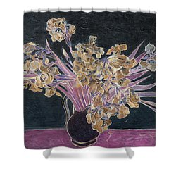 Rustic II Van Gogh Shower Curtain