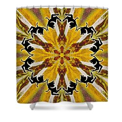 Shower Curtain featuring the digital art Rustic Lifespring by Derek Gedney
