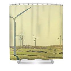 Rustic Renewables Shower Curtain