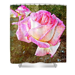 Rustic Rose Shower Curtain