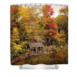 Rustic Splendor Shower Curtain by Jessica Jenney