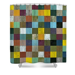 Rustic Wooden Abstract 100 Shower Curtain