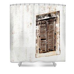 Finestra Rustica Shower Curtain