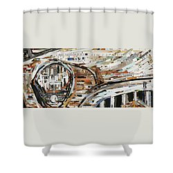 Rusty Buick Shower Curtain