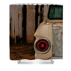 Rusty Car Shower Curtain by Heather Kirk