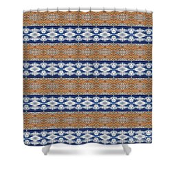 Rusty Clouds Shower Curtain