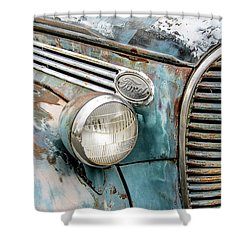 Rusty Ford 85 Truck Shower Curtain