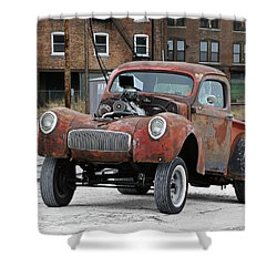Rusty Gasser Shower Curtain by Christopher McKenzie