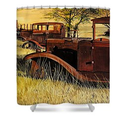 Rusty Meadows Shower Curtain