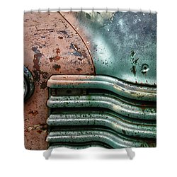 Shower Curtain featuring the photograph Rusty Old Beauty by Joel Witmeyer
