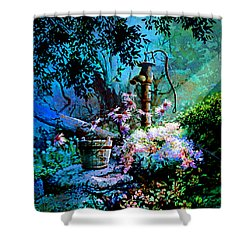 Rusty Relics Shower Curtain by Hanne Lore Koehler