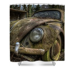 Rusty Vee Dub  Shower Curtain