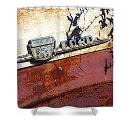 Rusty's Ford F 100 Shower Curtain