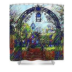 Rutgers University Shower Curtain
