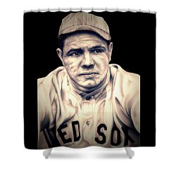 Ruth Shower Curtain by Fred Larucci