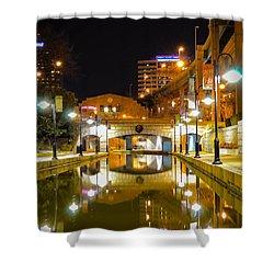 Rva Canal Walk Shower Curtain