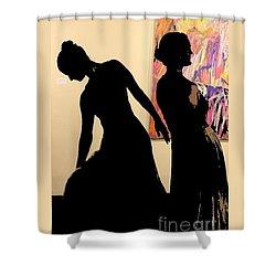 Rva Dancers Shower Curtain