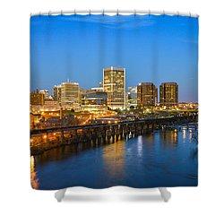 Rva Night Shower Curtain