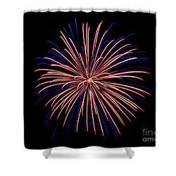 Rvr Fireworks 48 Shower Curtain