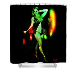 Ryan 2 Shower Curtain by Mark Baranowski