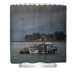 Shower Curtain featuring the photograph Ryan D by Randy Hall