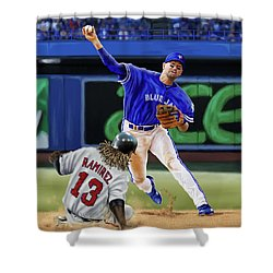 Ryan Goins Shower Curtain
