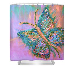 Ryans Butterfly Shower Curtain