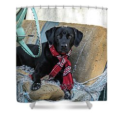 Ryder M Shower Curtain