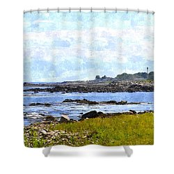 Rye Harbor Rhwc Shower Curtain