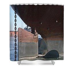 Ryerson Prop Shower Curtain