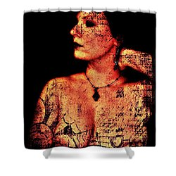 Ryli 2 Shower Curtain