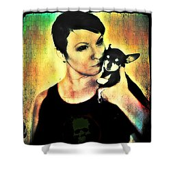 Ryli And Chi-chi 1 Shower Curtain