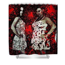 Ryli And Corinne 2 Shower Curtain by Mark Baranowski