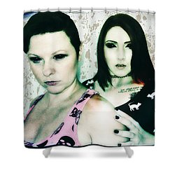 Ryli And Khrist 1 Shower Curtain by Mark Baranowski
