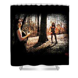 Ryli And Nancy 1 Shower Curtain