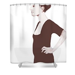 Rysselberghe Shower Curtain
