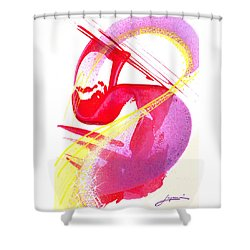 S-is For Super Shower Curtain