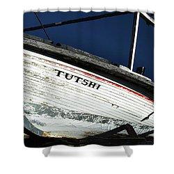 S. S. Tutshi Shower Curtain