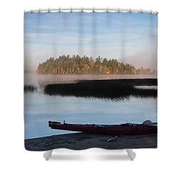 Sabao Morning Shower Curtain by Brent L Ander