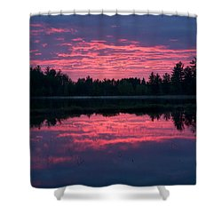 Sabao Sunset 01 Shower Curtain by Brent L Ander