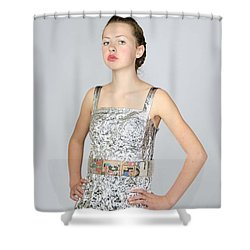 Nicoya In Secondary Fashion Shower Curtain