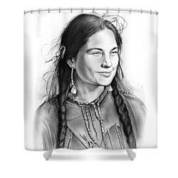 Sacagawea Shower Curtain