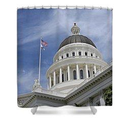 Sacramento Capitol Building Shower Curtain