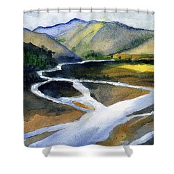 Sacramento River Delta Shower Curtain